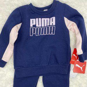 Puma lilac/ blue sweatshirt & sweatpants set NEW
